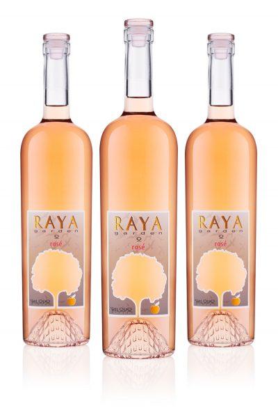 Rose raya garden bundle 3 bottles wine